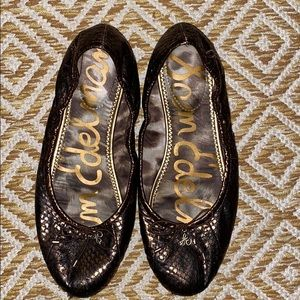 Sam Edelman leAther ballet flats